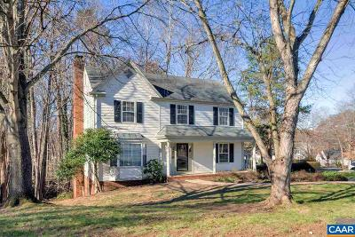 Albemarle County Single Family Home For Sale: 2025 Heather Glen Rd