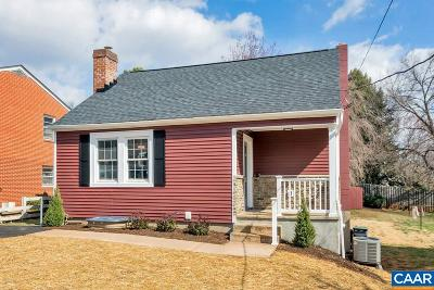 Charlottesville County Single Family Home For Sale: 1211 Little High St