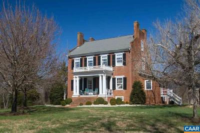 Charlottesville Single Family Home For Sale: 4710 Dickerson Rd