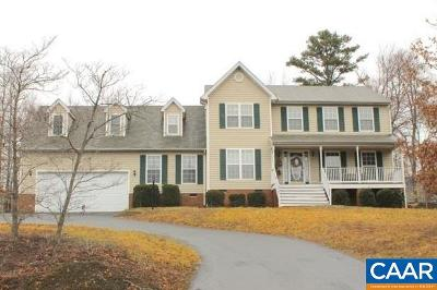 Fluvanna County Single Family Home For Sale: 468 Jefferson Dr