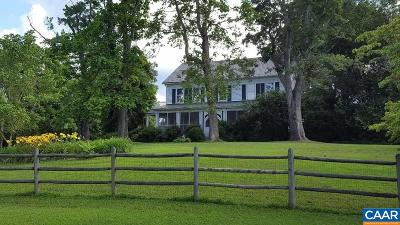 Fluvanna County Single Family Home For Sale: 15608 W River Rd W