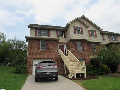 Harrisonburg Townhome For Sale: 1823 Willow Hill Dr