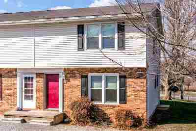 Timberville Townhome For Sale: 383 Sherando Ct