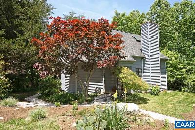 Charlottesville Single Family Home For Sale: 88 Mill Creek Ct