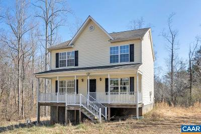 Albemarle County Single Family Home For Sale: 5031 Green Creek Rd