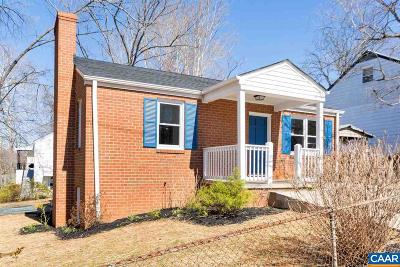 Charlottesville Single Family Home For Sale: 403a Elliott Ave