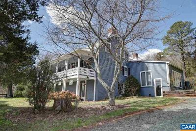 Albemarle County Single Family Home For Sale: 3354 James River Rd