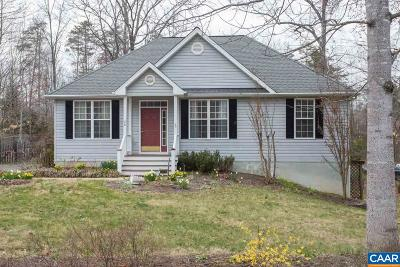 Fluvanna County Single Family Home For Sale: 36 Hatchechubee Rd