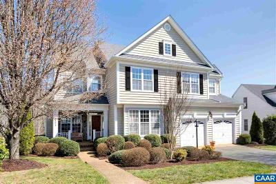 Charlottesville Single Family Home For Sale: 3394 Turnberry Cir