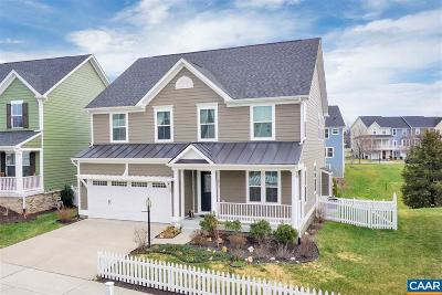 Albemarle County Single Family Home For Sale: 1813 Wickham Pl