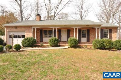 Charlottesville Single Family Home For Sale: 2923 Idlewood Dr