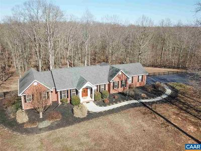 Fluvanna County Single Family Home For Sale: 133 Pine Forest Ln