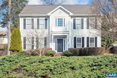 Charlottesville Single Family Home For Sale: 2219 Montalcino Way