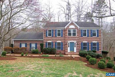 Charlottesville Single Family Home For Sale: 1351 Mosby Rch
