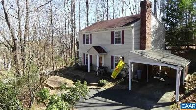 Charlottesville Single Family Home For Sale: 100 Loma Ln