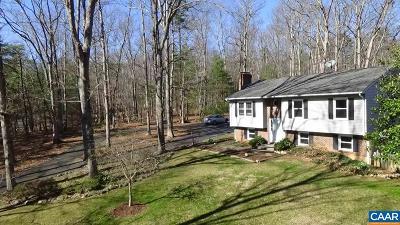 Charlottesville Single Family Home For Sale: 1437 Villaverde Ln