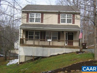 Fluvanna County Single Family Home For Sale: 23 S Bearwood Dr