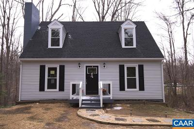 Charlottesville Single Family Home For Sale: 583 Old Lynchburg Rd