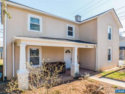 Charlottesville Single Family Home For Sale: 1018 Avon St