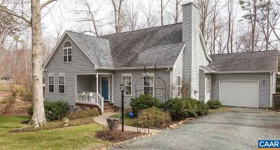 Lake Monticello Single Family Home For Sale: 9 East Point Rd