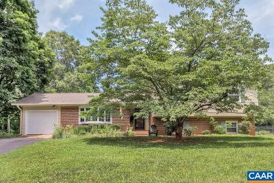 Charlottesville Single Family Home For Sale: 2740 Leeds Ln