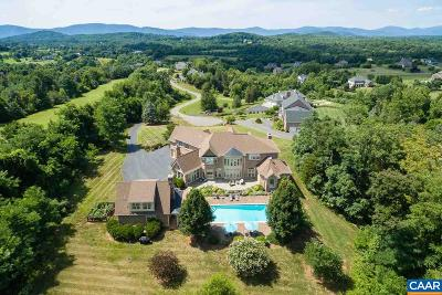 Albemarle County Single Family Home For Sale: 640 Rocks Mill Ct