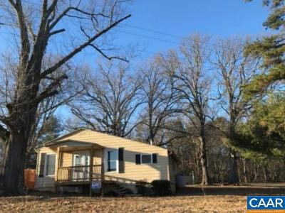 Fluvanna County Single Family Home For Sale: 1129 Bybees Church Rd