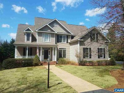 Earlysville Single Family Home For Sale: 784 Earlysville Forest Dr