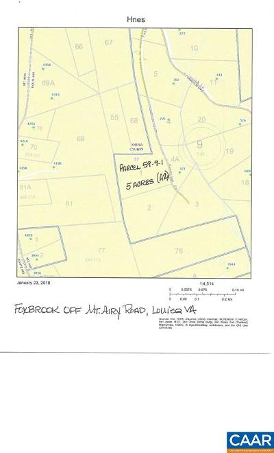 Louisa Lots & Land For Sale: 0001 Foxbrook Ct