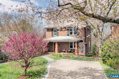 Charlottesville  Single Family Home For Sale: 843 Locust Ave