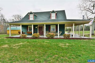 Louisa Single Family Home For Sale: 1462 School Bus Rd