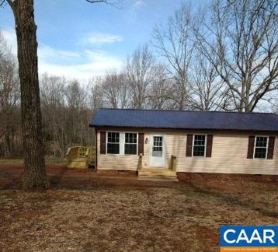 Buckingham County Single Family Home For Sale: 375 Buffalo Rd