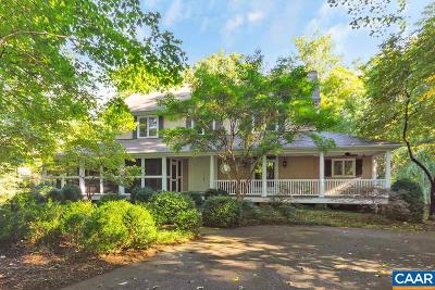 Albemarle County Single Family Home For Sale: 3145 Beau Mont Farm Rd