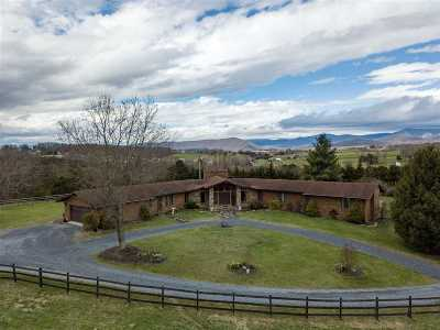 Shenandoah County Single Family Home For Sale: 288 Hidden Acres Ln