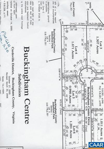 Buckingham County Lots & Land For Sale: 4 Buckingham Centre Dr