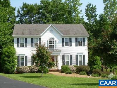 Charlottesville Single Family Home For Sale: 2603 Fernleaf Rd