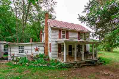 Rockingham County Single Family Home For Sale: 18264 Crab Run Rd #5 Acres