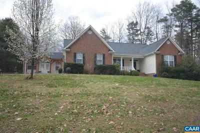 Earlysville Single Family Home For Sale: 1285 Templeton Cir