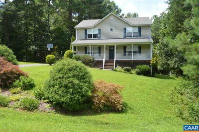 Barboursville Single Family Home For Sale: 165 Preddy Creek Dr