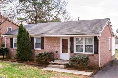 Harrisonburg Single Family Home For Sale: 811 Country Club Rd