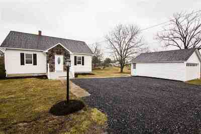 Rockingham County Single Family Home For Sale: 1160 Harman Rd