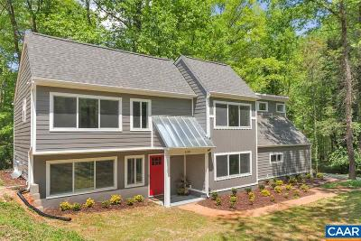 Charlottesville Single Family Home For Sale: 1100 Bishop Ln