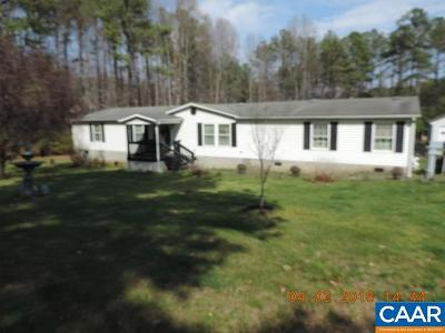 Buckingham County Single Family Home For Sale: 802 Scotts Bottom Rd