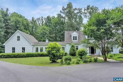 Albemarle County Single Family Home For Sale: 1410 Plains Dr