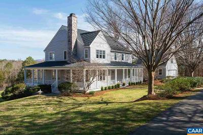Albemarle County Single Family Home For Sale: 4500 Old Fields Rd