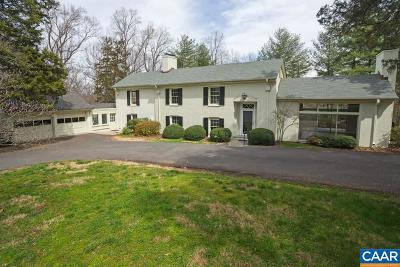 Charlottesville Single Family Home For Sale: 212 Montvue Dr