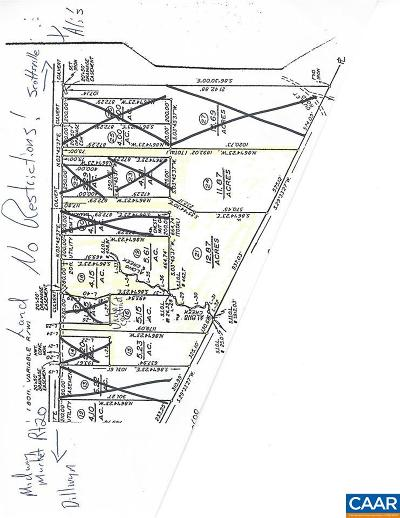 Buckingham County Lots & Land For Sale: Lot 21 S Constitution Rte