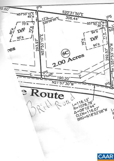 Buckingham County Lots & Land For Sale: 6c Brill Rd