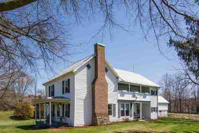 Bridgewater Single Family Home For Sale: 206 Millers Saw Mill Rd