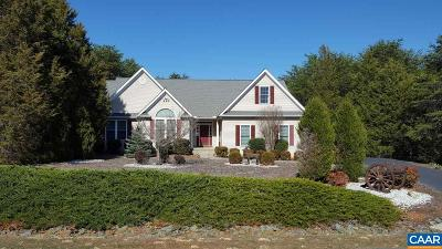 Fluvanna County Single Family Home For Sale: 10 Acre Ln